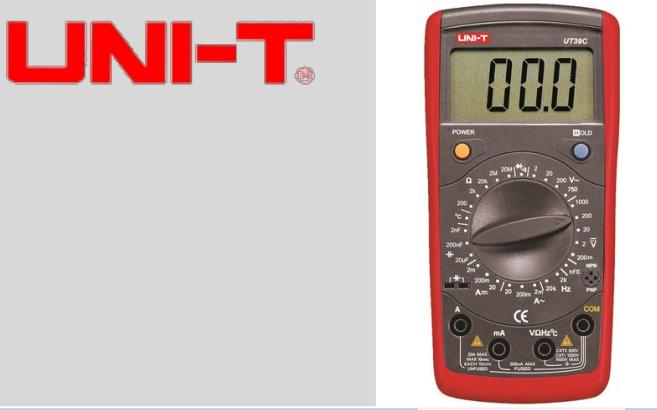 UT39C 多功能数字万用表