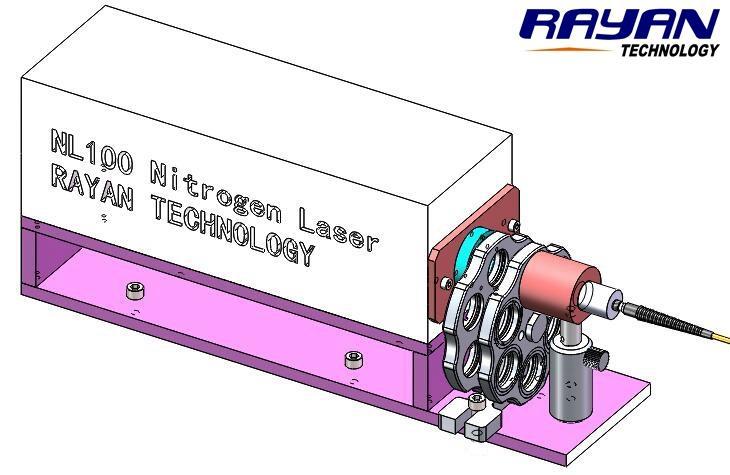 NL100-RFFC10氮分子激光衰减滤光准直光纤输出系统