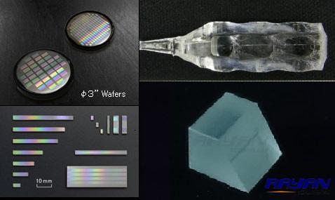 QPM准相位匹配光学元件/太赫兹发生棱镜Oxide Corporation Japan