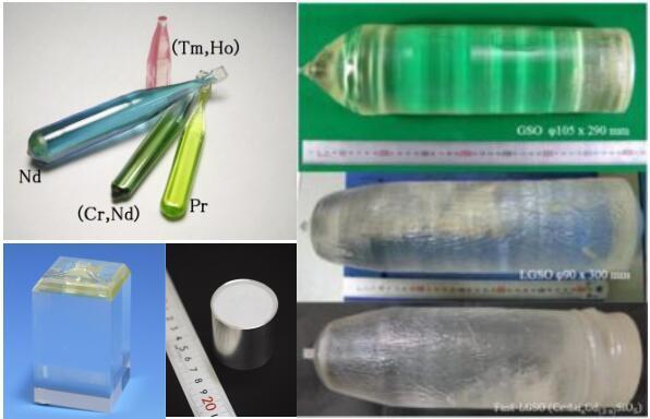 激光晶体/闪烁体/激光核心光学元件Oxide Corporation Japan