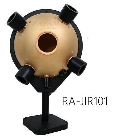 RA-JIR100系列红外积分球均匀光源-镀金积分球-镀金积分球光源-中远红外积分球光源