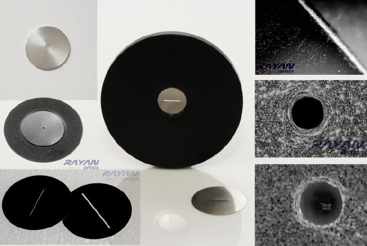 PIN-SLI系列高精密光学针孔&光学狭缝