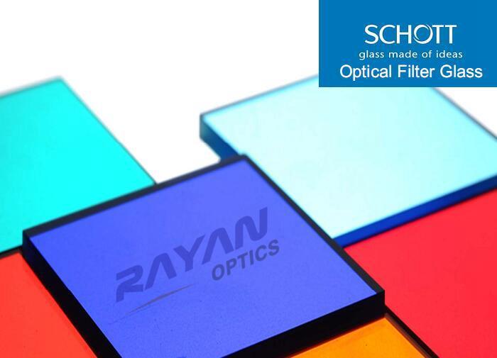 德国SCHOTT吸收型光学滤光片/紫外带通、带通、多带通滤光片/长波通、短波通滤光片/衰减片/接受定制