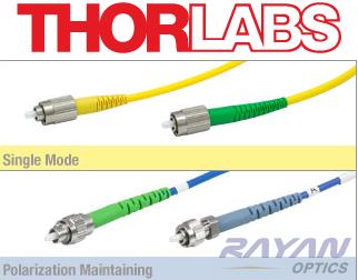 thorlabs光谱分析光纤(用户人民币直接采购)