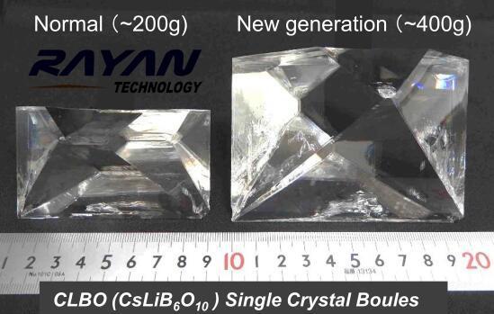 日本oxide-CLBO: CsLiB6O10-硼酸锂铯晶体-瑞研科技