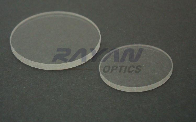 CaF2氟化钙窗口片-非镀膜、镀膜窗口片,定制氟化钙窗口片,定制镀膜氟化钙窗口片